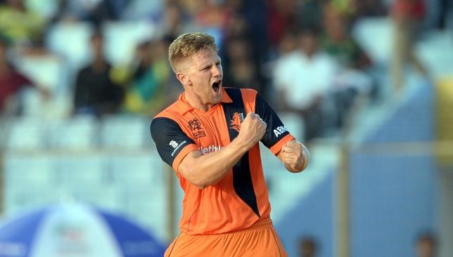 Van der Gugten took just 20 deliveries to complete his five wickets.