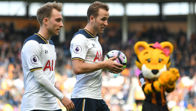 Christian Eriksen and Harry Kane have been key to Tottenham's rising status in Europe.