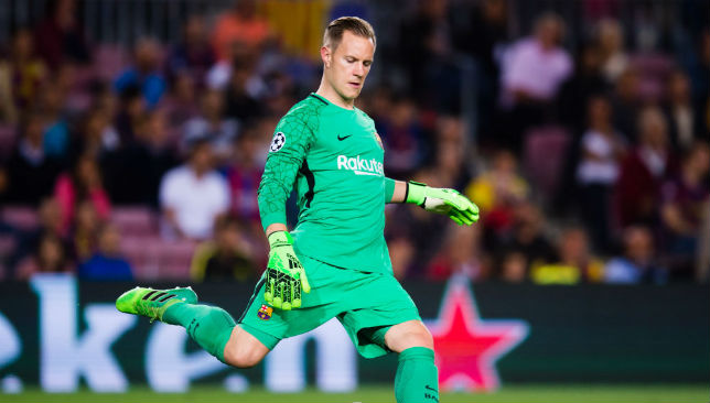 d2e5398bd He may be the hot hand when it comes to being first choice goalkeeper for  the defending champions – but Marc-Andre ter Stegen insists that whenever  Manuel ...