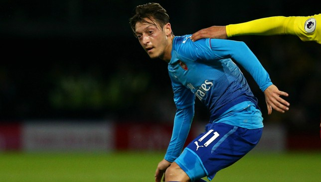 Ozil's Arsenal deal is up at the end of the season.