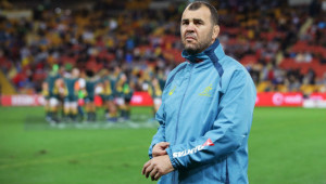 Wallabies boss Michael Cheika.