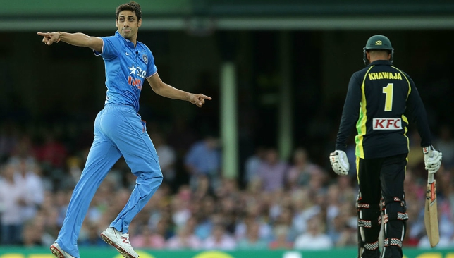 Ashish Nehra will play his final match for India on November 1.