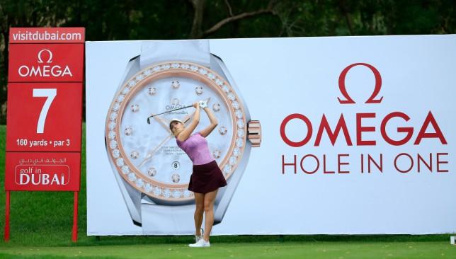 Paige Spiranac will be entertaining crowds at Emirates Golf Club.