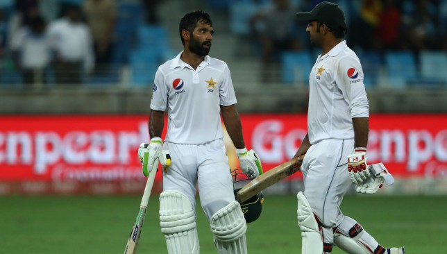 Asad Shafiq and Sarfraz Ahmed batted out the entire final session.