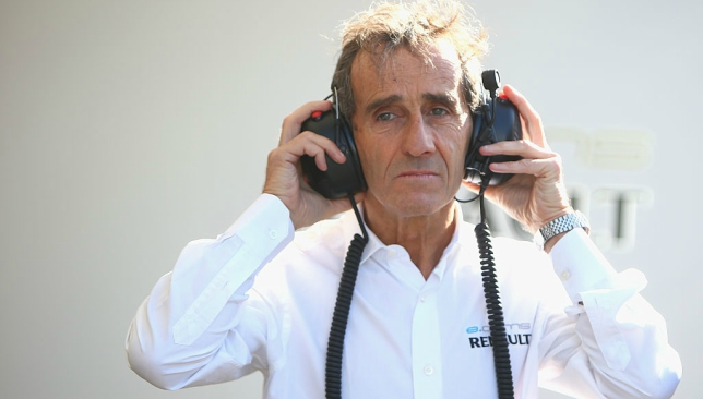 Prost praised Sainz for a great drive in his debut race for Renault.