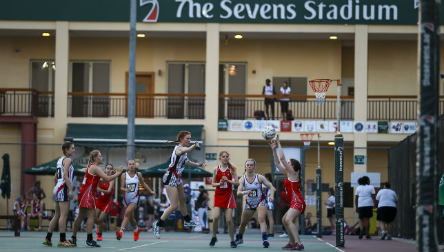 Record Number of Netball Teams at the Dubai Sevens (2)