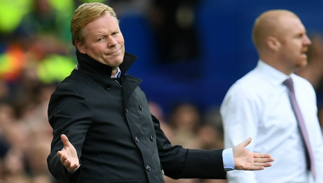 Troubled times at Goodison for Koeman.
