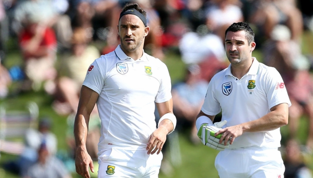 South Africa captain Faf du Plessis, Dean Elgar oppose four-day Test