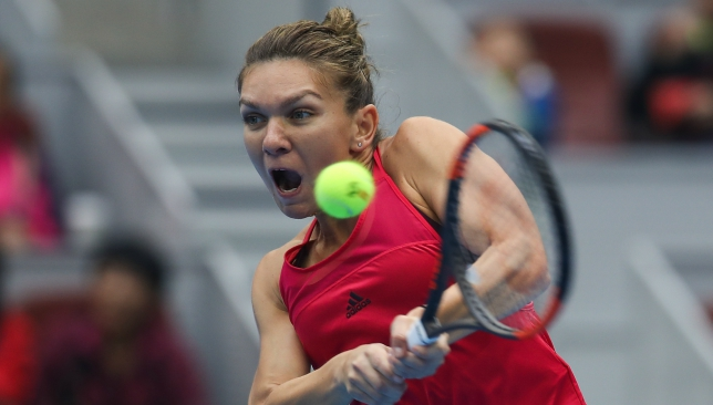 The Romanian cruised through to the Beijing final on Saturday.