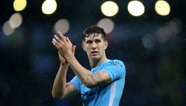 John Stones was full of praise for City's forward line.