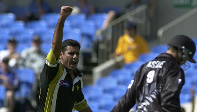Ali surpassed Pakistan legend Waqar Younis who took 27 matches.