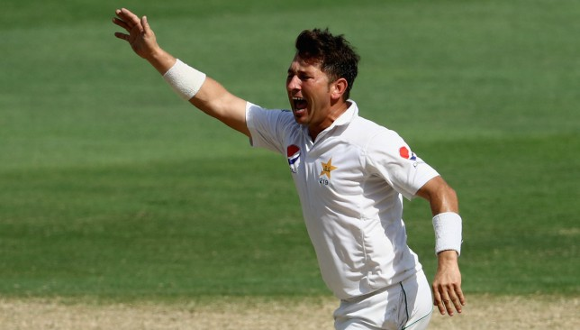 Yasir Shah could be in action against South Africa next month.