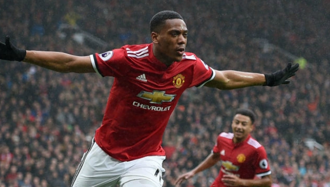 Anthony Martial has struggled to hold down a regular spot at Man United.