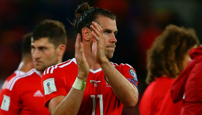 Bale ruled out of Wales' final World Cup qualifiers