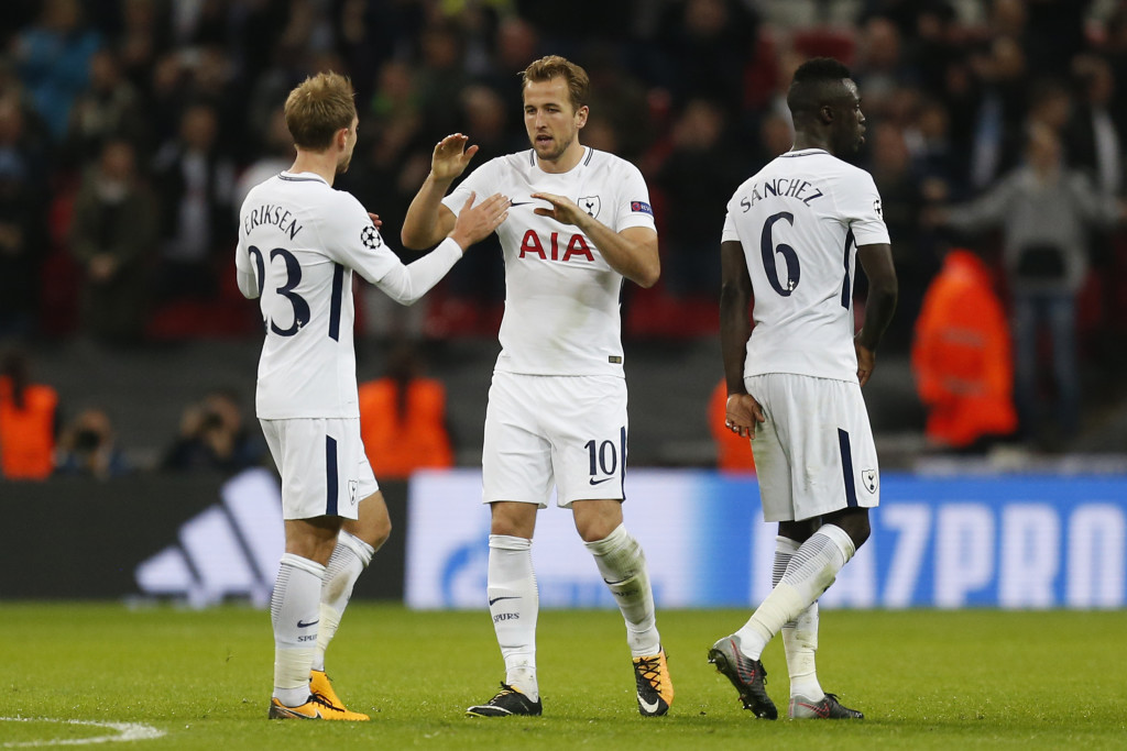 Kane's assist for Eriksen put Spurs out of Madrid's reach.