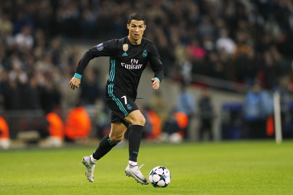 Ronaldo's goal means he's now the leading scorer in this year's Champions League.