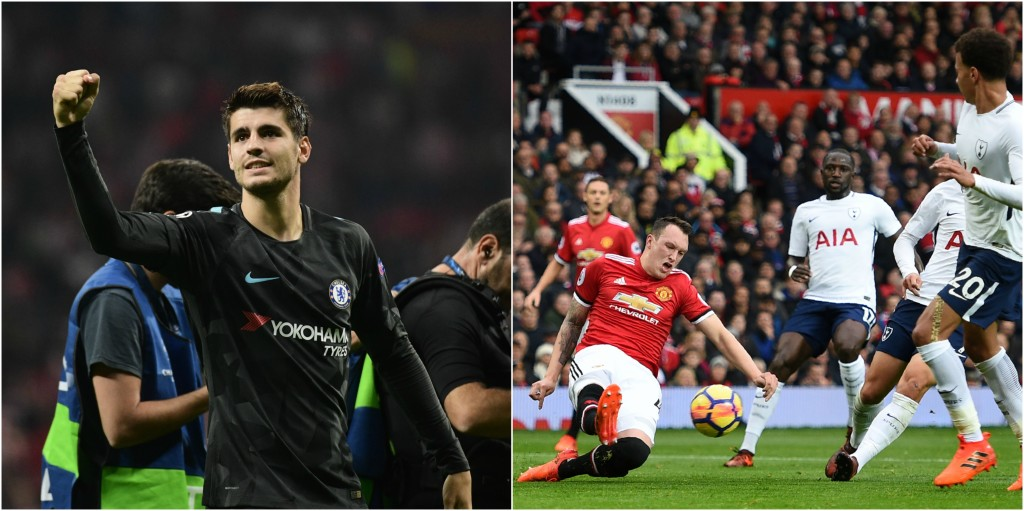 Morata v Jones could be where the game is won.