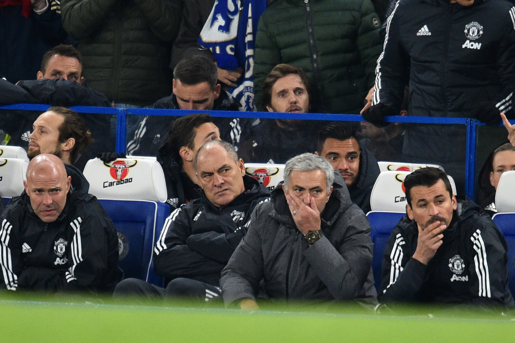 Mourinho's team failed to rise to the occasion.
