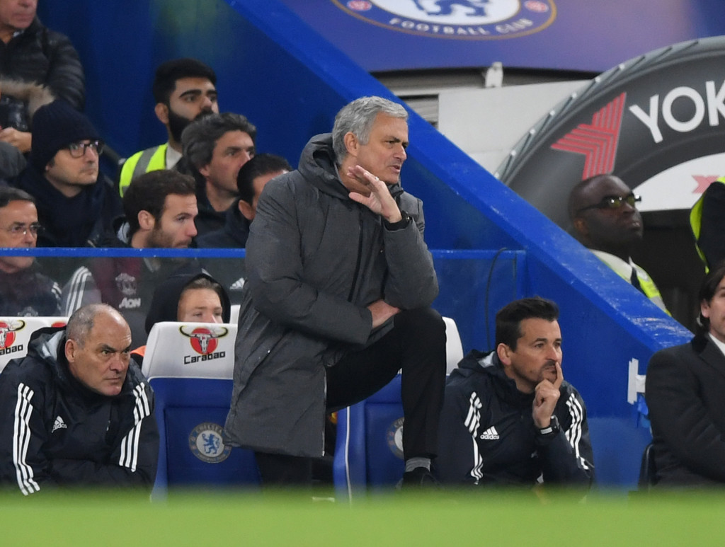 Try as he could, Mourinho couldn't coax an improvement out of his team.