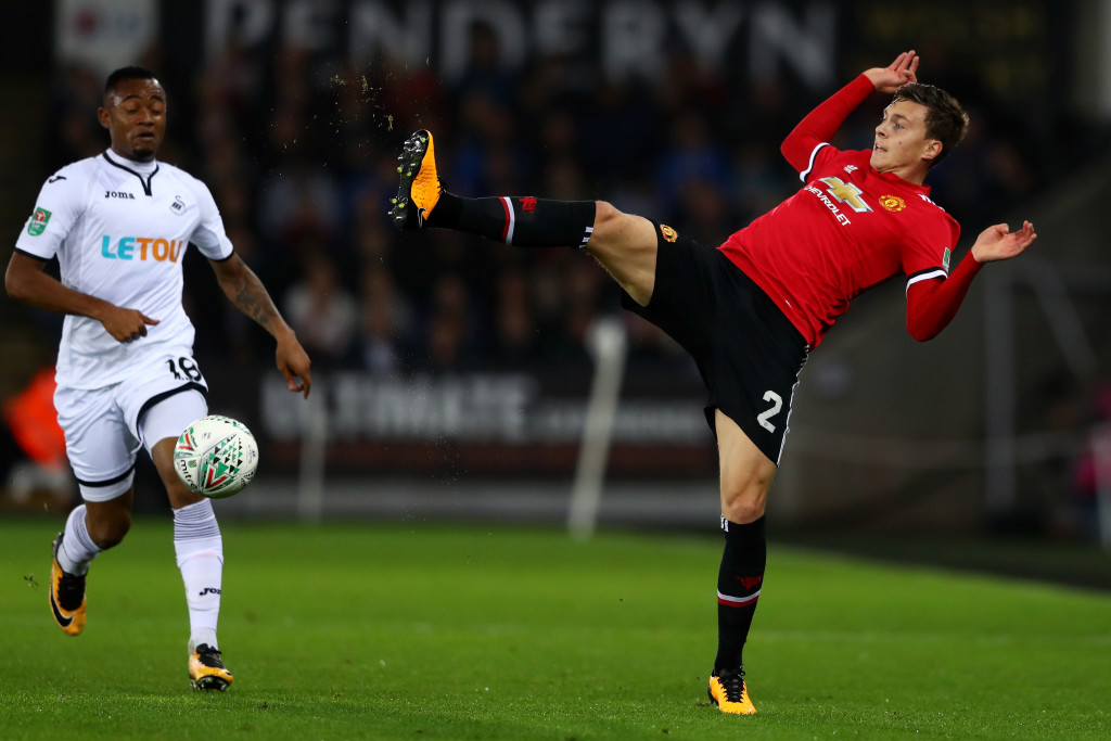 Victor Lindelof has struggled to adapt to the English game.