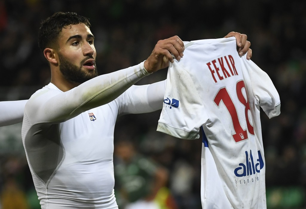 Nabil Fekir: Wanted by Arsenal, Real Madrid, Juventus, and Barcelona.