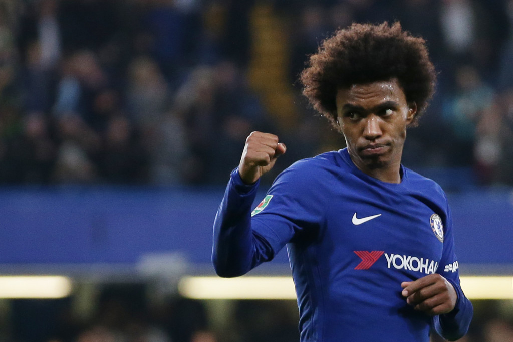 Willian and Mourinho - en route to a reunion?