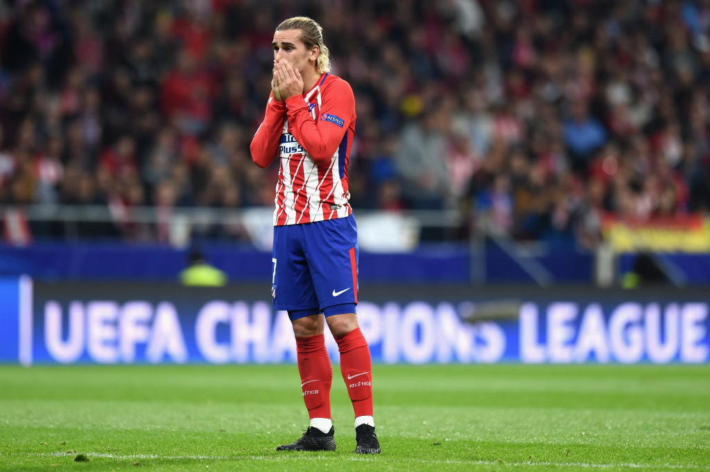 Antoine Griezmann seems to be playing like his mind is already elsewhere.