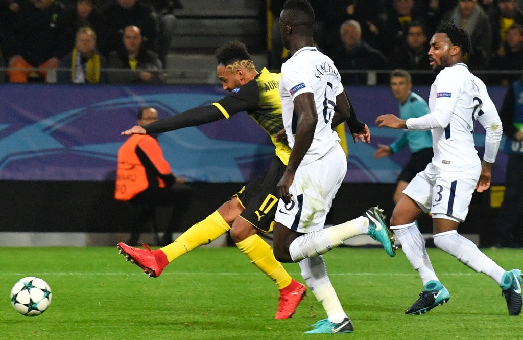The goal that gave Dortmund the lead came from a superb finish.