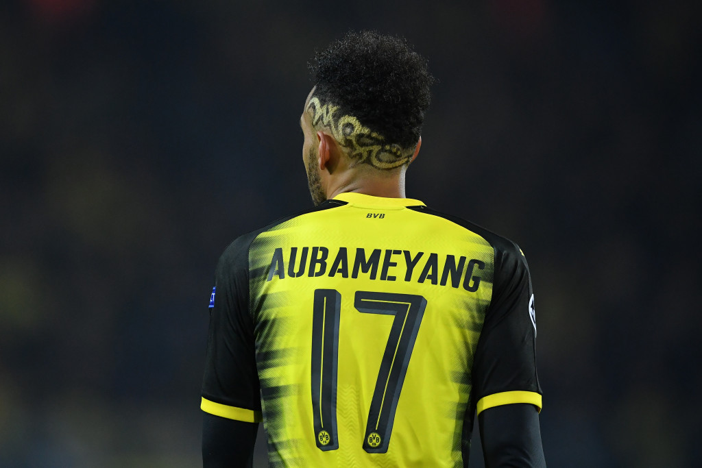 Aubameyang put Dortmund in front with a well-taken goal.
