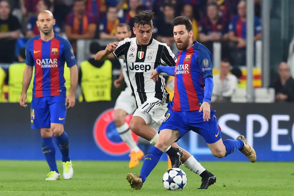 Paulo Dybala and Lionel Messi renew their friendly rivalry on Wednesday.