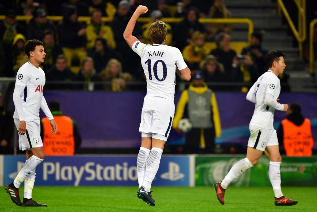 Kane's performance helped Tottenham seal top spot in their group.