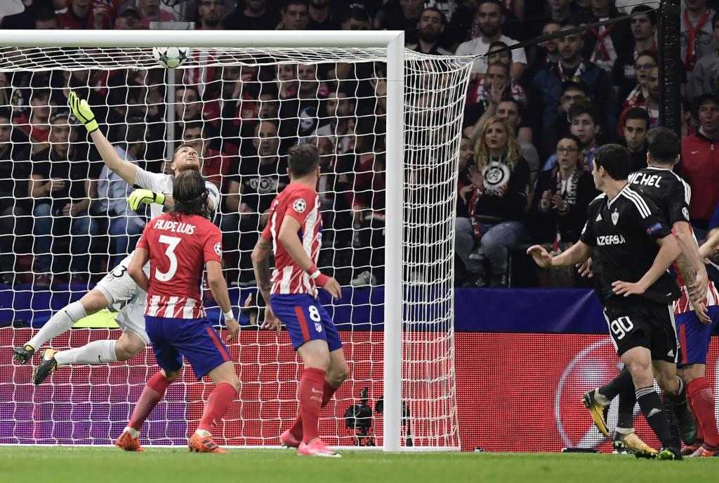 Qarabag were among the many teams to have scored from a set-piece against Atletico.