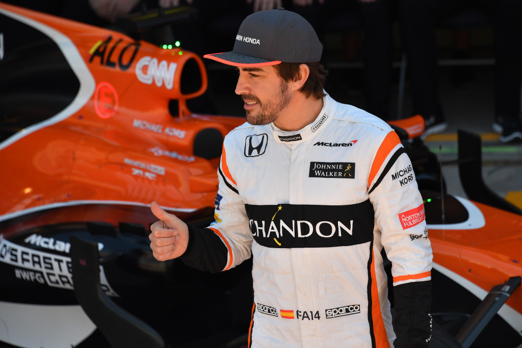 Alonso is ramping up preparations for Daytona's 24 Hours race in January.