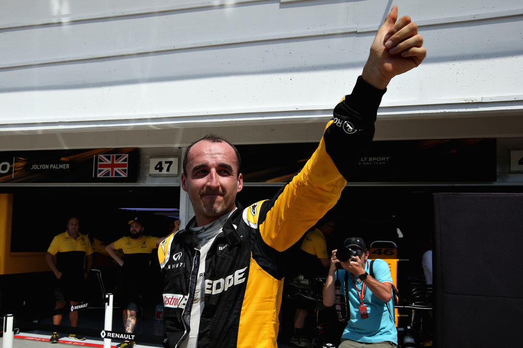 Kubica returns to the track with a spot at Williams for 2018 up for grabs.