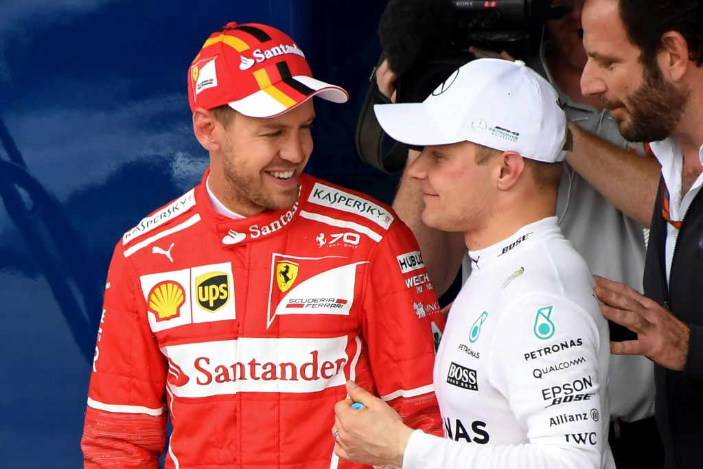 Vettel should wrap up second spot ahead of Bottas this weekend.