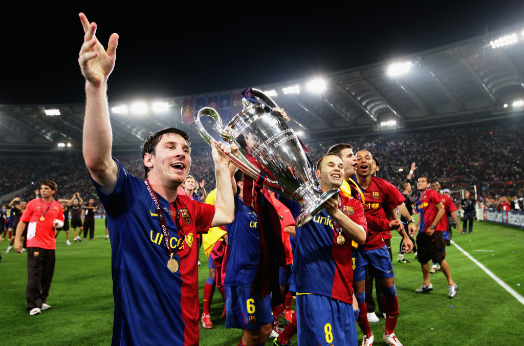 Barcelona beat United in the 2011 Champions League final.