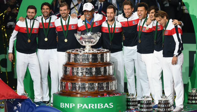 France beat Belgium in Lille win Davis Cup for 10th time