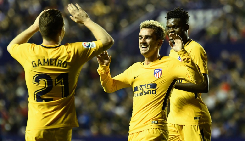 A good day all around for Atletico.
