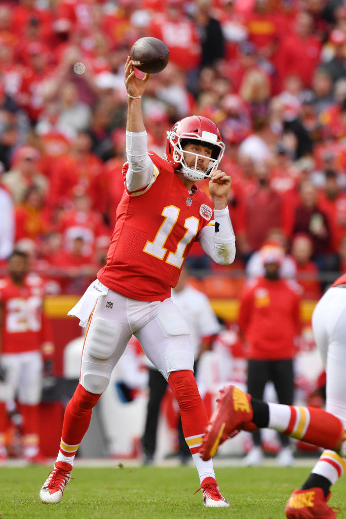 Alex Smith and the Chiefs have slumped after a 5-0 start.