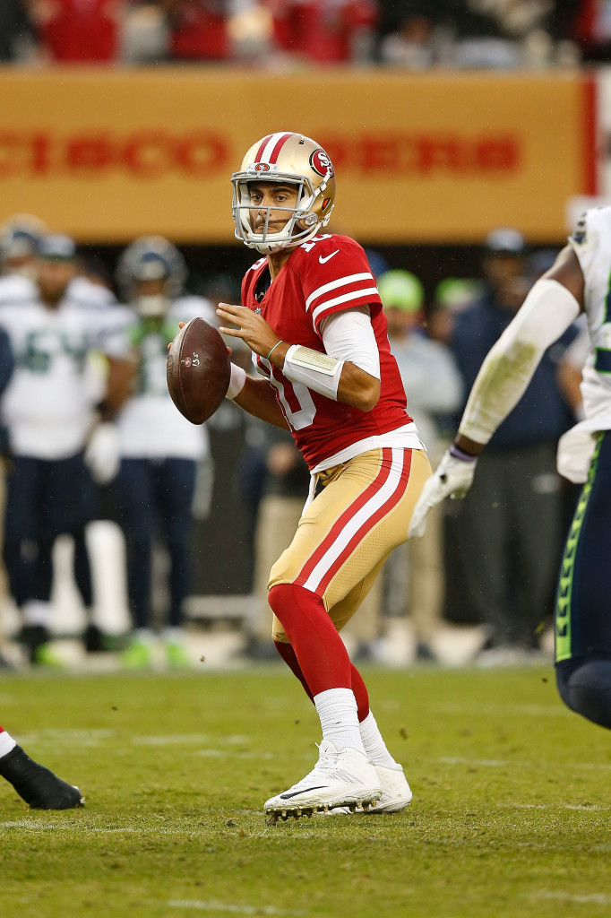 Jimmy Garoppolo finally had a chance to impress in San Francisco - and took it.