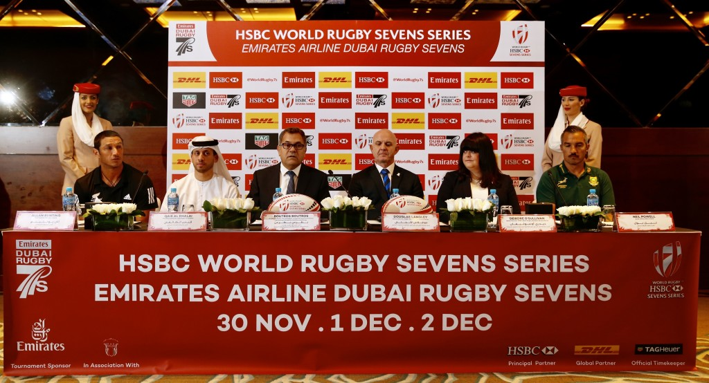 The 2017 Dubai Rugby Sevens will be the biggest event in the tournament's history.