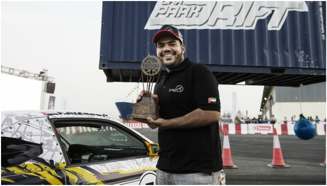 Been there, done that: Faisal Al Zaabi.