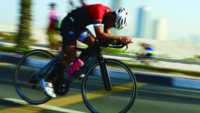 Pedal to the metal: Get on your bike in short and sharp bursts at the Rashid School for Boys on Saturday.