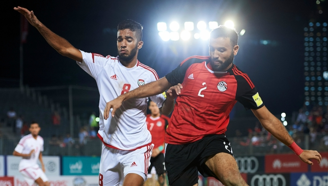 It was a closely contested affair between UAE and Egypt.