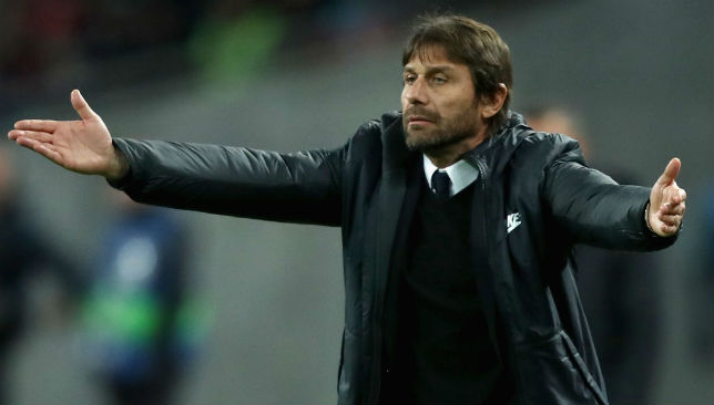 With his beard grown: Antonio Conte