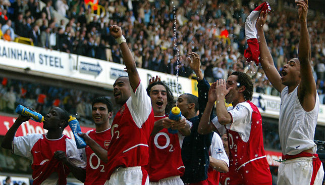 Salah wants Liverpool to replicate Arsenal's 2003/04 'Invincibles' season.