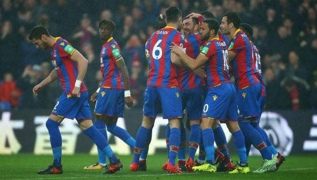 Currently at the bottom of the table: Crystal Palace