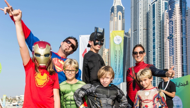 Dubai's first ever Superhero Walkathon was a huge hit.