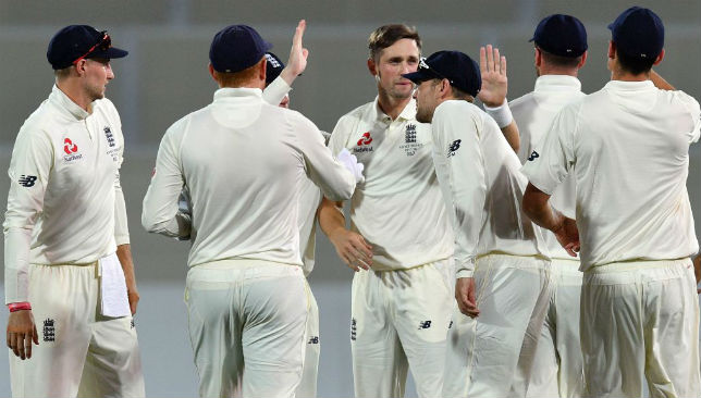 Will they be celebrating after the series: England