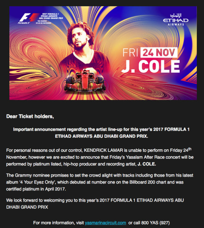 F1 email